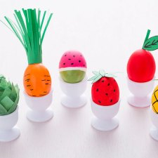 Fruit and Veggie Easter Eggs