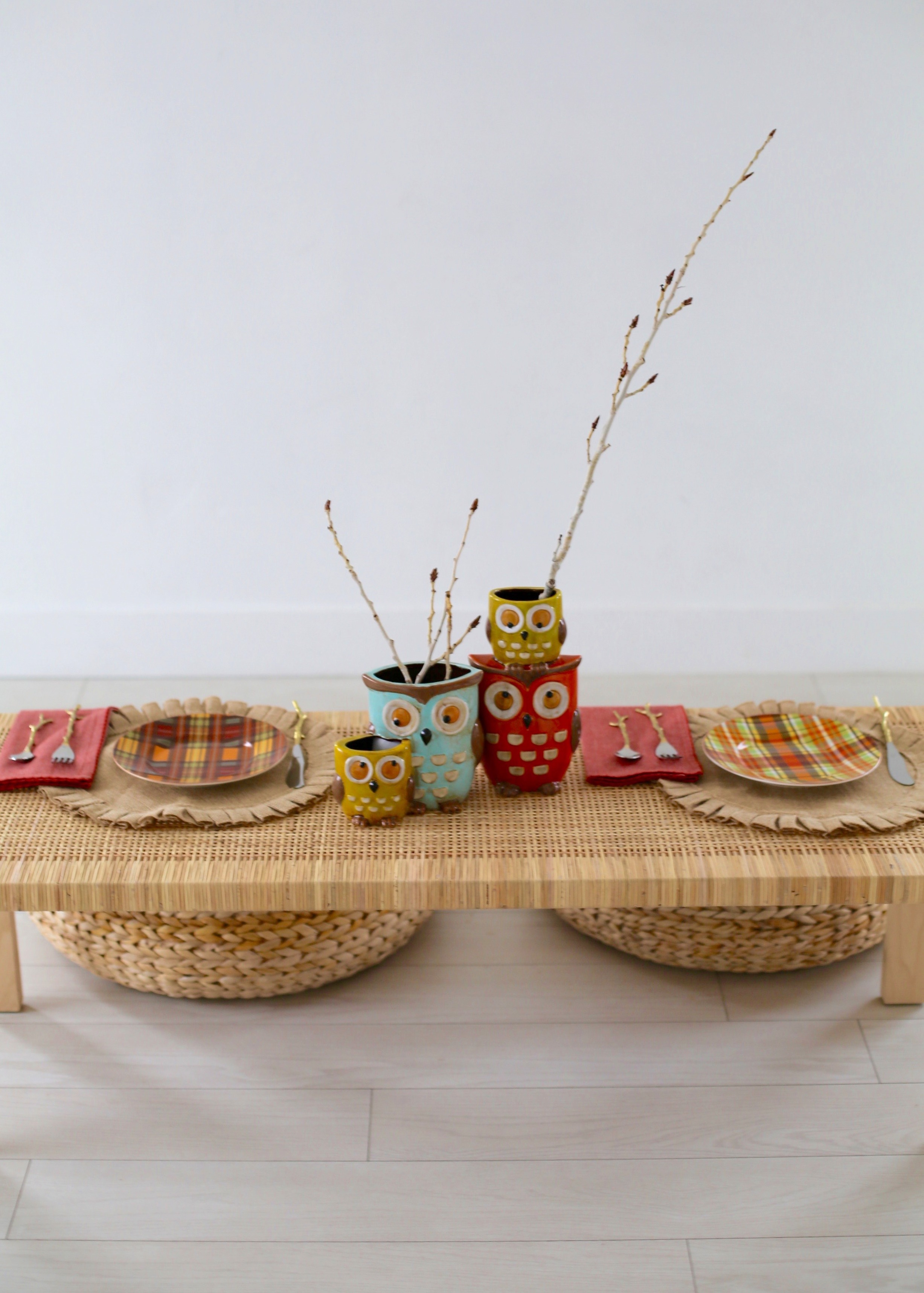 Kid Table Ideas with Pier One