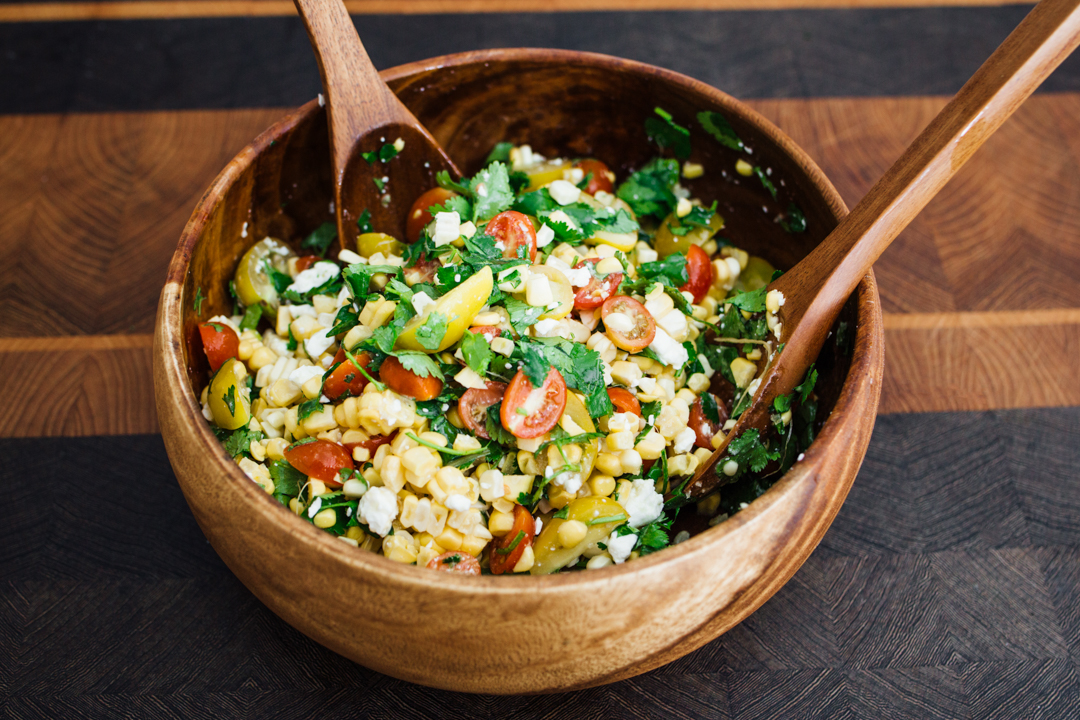 Fresh Corn Salad - Best Ever