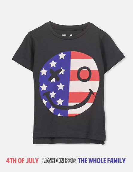 4th of July Fashion for the whole family!