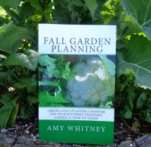 Fall Garden Planning book explains how to choose crops, create a schedule, and prepare the garden for fall planting.