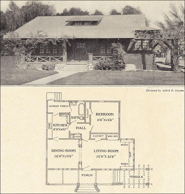 Plans 1930 House Style Bungalow