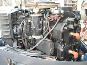 120 hp Used Evinrude Outboard for Sale