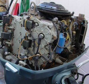 Evinrude 85 hp Outboard Boat Motor For Sale