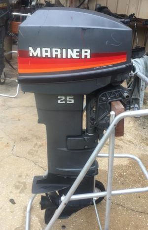 25hp Mariner Outboard Long Shaft Remote Yamaha