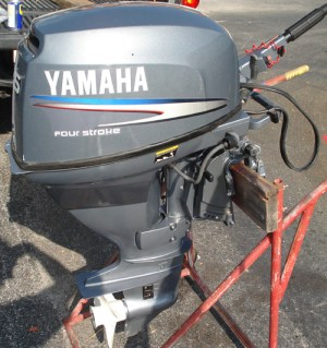 25 hp Yamaha 4 Stroke Outboard For Sale