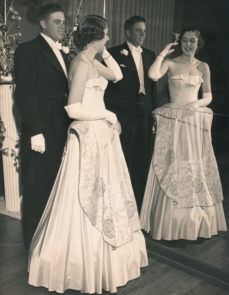 My father, Edwin Sharpe Bell, squiring an Idlewild debutante in the late 1940s or perhaps 1950.