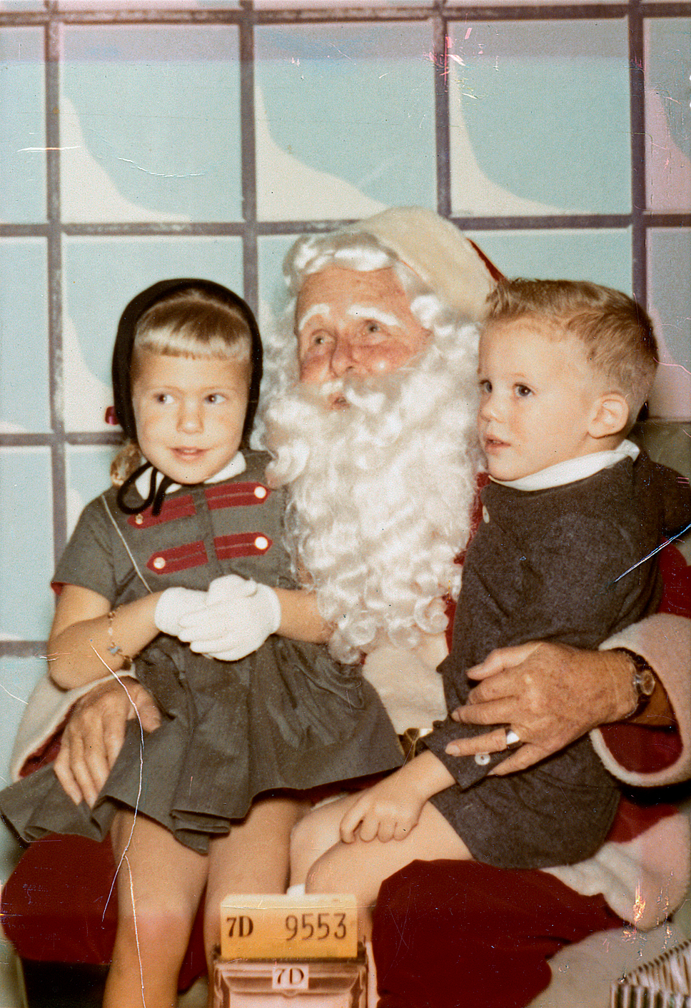 Way back when we believed in Santa Claus.
