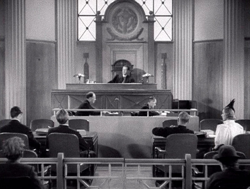 (above) Jury duty would be a pleasure if courtrooms looked like this one.