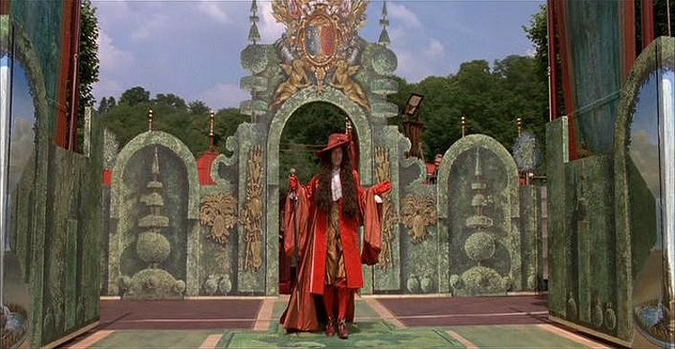 Louis XIV portrayed by Julian Sands