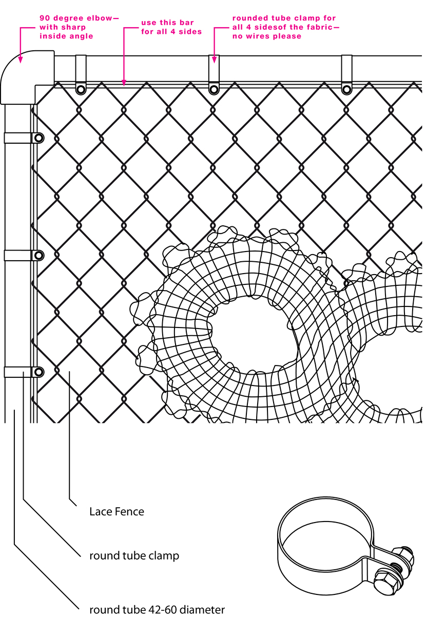 (above) This is the drawing that caused local fencing contractors to run for the hills.