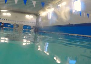 100-Day Swim Challenge - Pool View