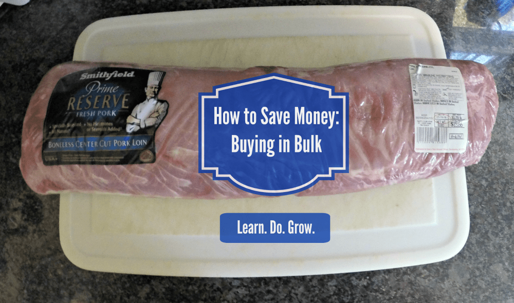 How to Save Money: Buying in Bulk