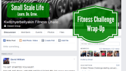 Fitness Challenge Wrap-Up