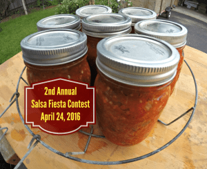 2nd Annual Salsa Fiesta Contest; canned tomatoes; contest