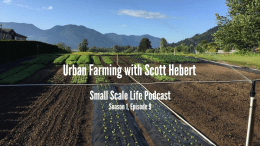 Interview with Scott Hebert from Flavourful Farms about: Podcast; Urban Farming; gardening; Scott Hebert; Curtis Stone; working out; diet; fitness; healthy living; art; drawing; creativity