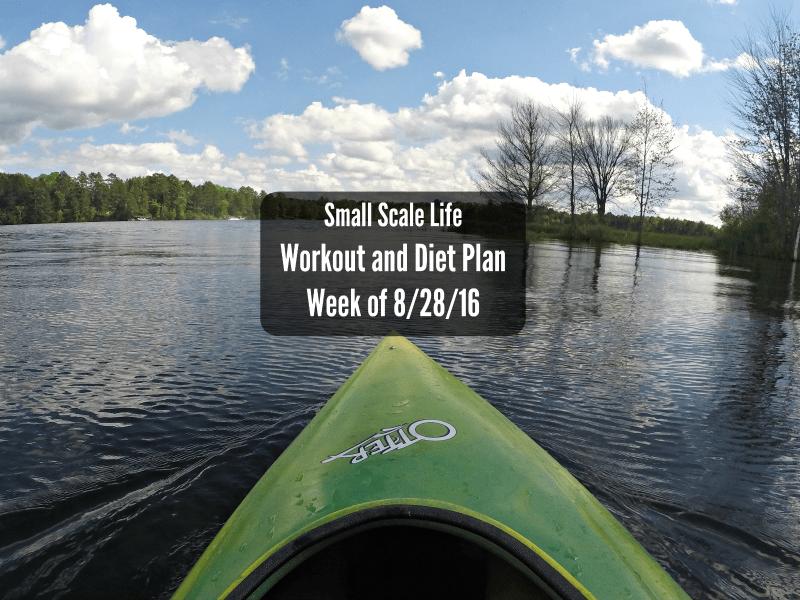 Workout Plan – Week of 8/28/16