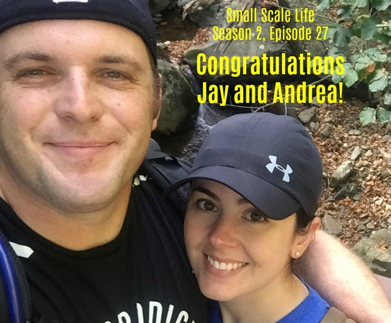 Congratulations, Jay and Andrea!