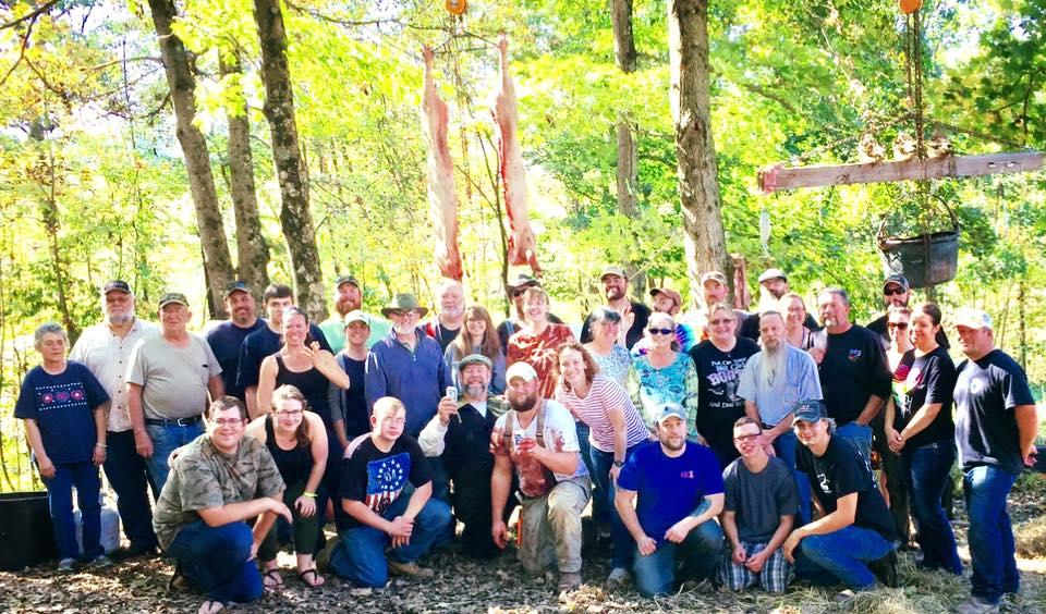 Hogtoberfest 2017, tribe, small community, homesteader, homesteading