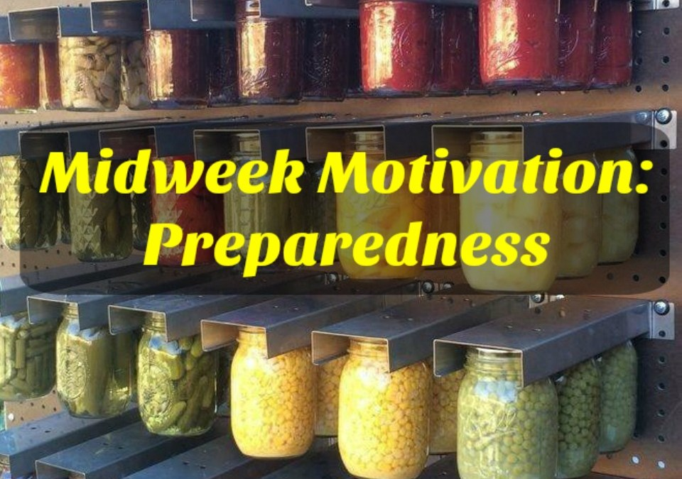 Preparedness, Prepared, Prepping, Prepping, Homestead, Sustainable Life, Rural Living, Rural Life, Frugal Living, Small Scale Life Podcast, Midweek Motivation
