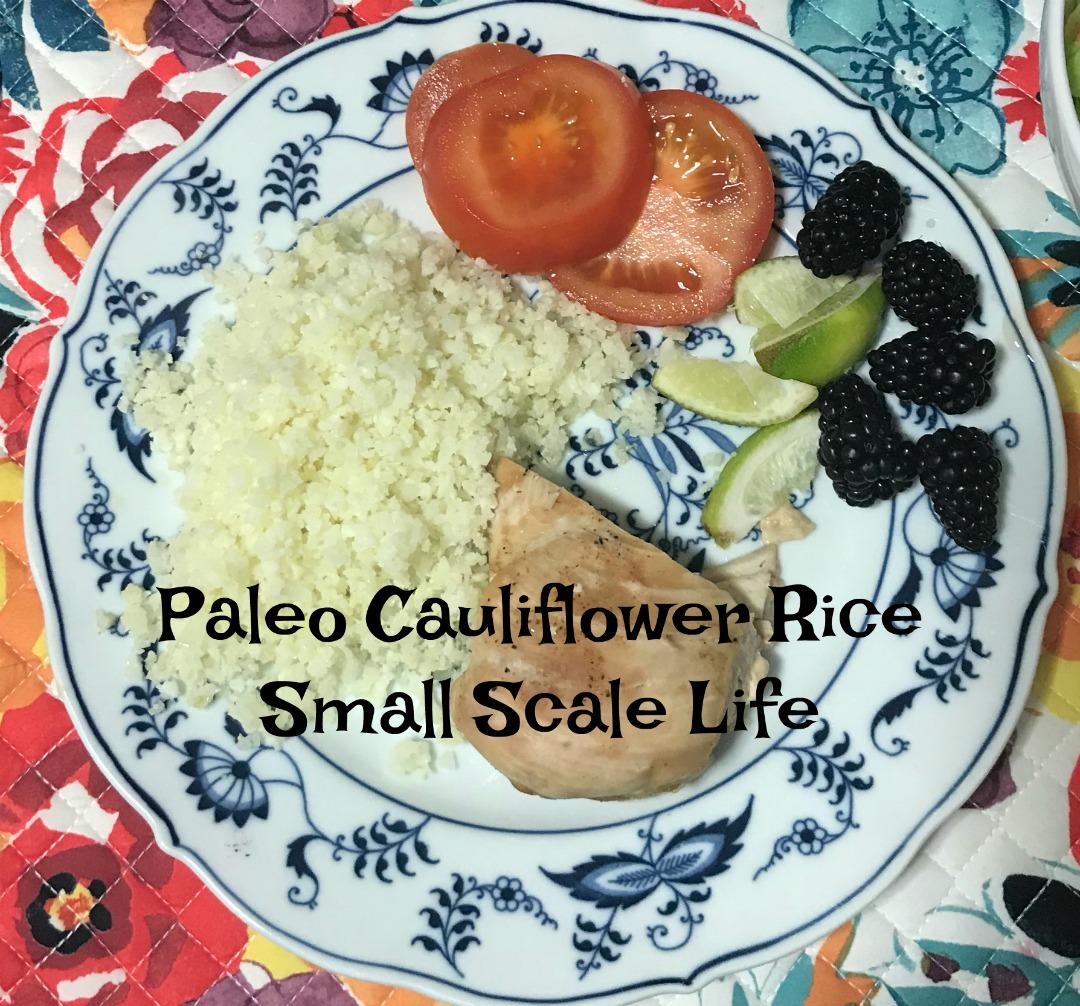 Hate Cauliflower?  Try this Paleo Cauliflower Rice Recipe!