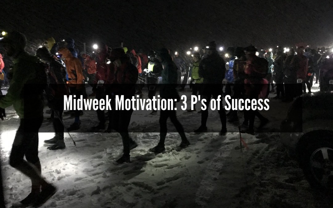 Success, purpose, planning, preparation, midweek motivation, 3Ps of Success