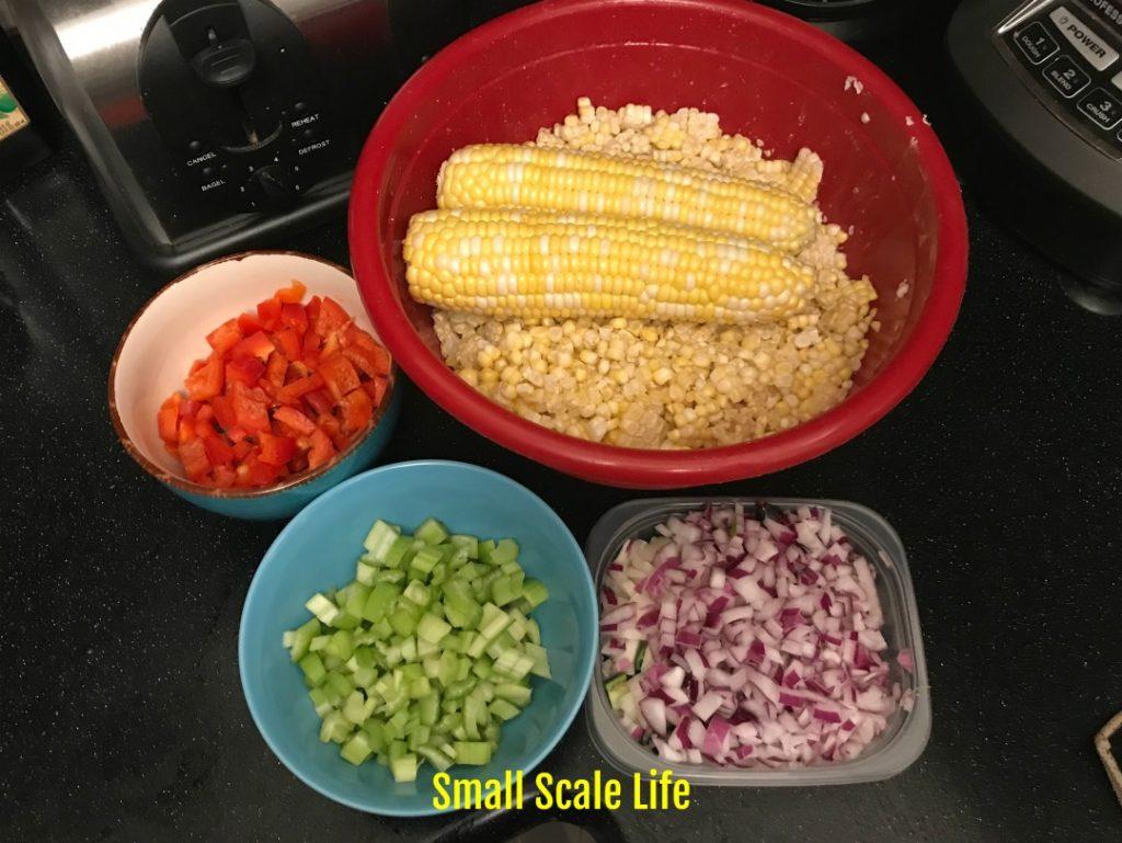 Corn Relish, canning, food preservation, recipes