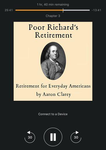Poor Richards Retirement, Aaron Clarey, Financial Freedom, Retirement, Frugal Living
