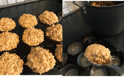 Bulk Preparing and Freezing Oatmeal