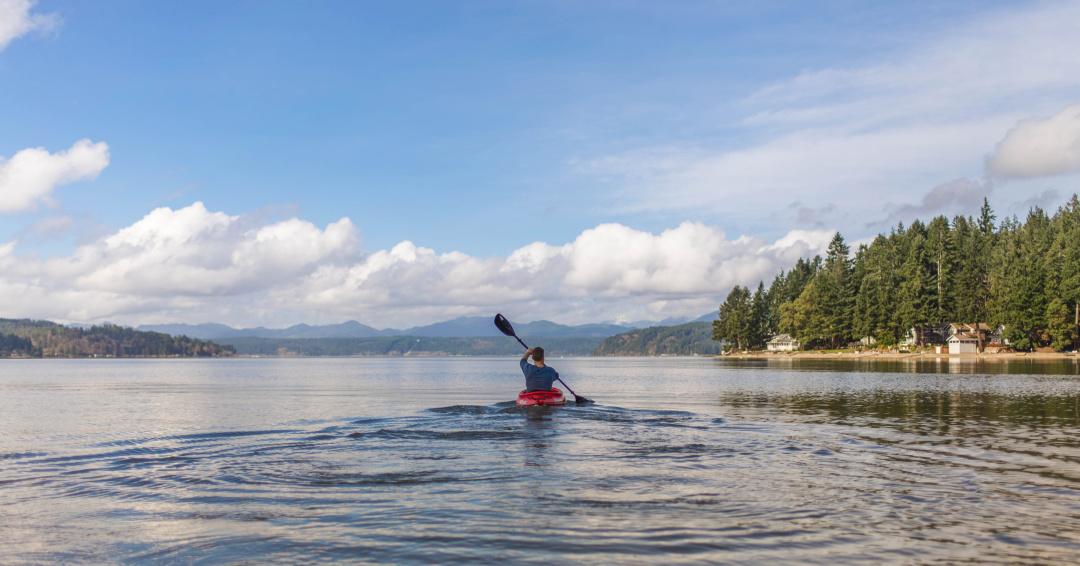 kayaking, flow