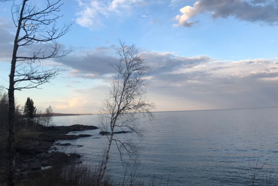 sunset, Earth Day, Lake Superior, Northshore, vacation