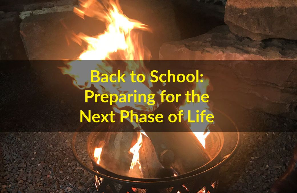 Back to School: Preparing for the Next Phase of Life