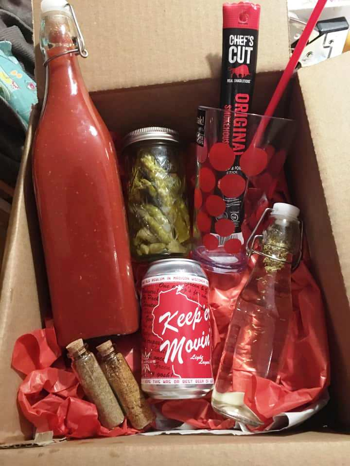 Bloody Mary Box, DIY Christmas Gifts