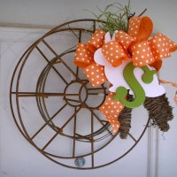 Industrial Whimsy Equals Spring Rustic Wreath