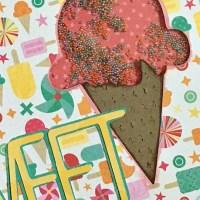 """""""Sweet"""" Shaker Card for Summer"""