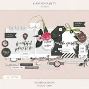Garden Party Elements by Sahin Designs