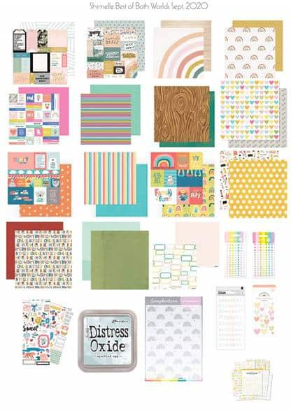 Scrapbook papers & embellishments