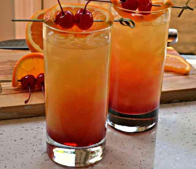 Easy Tequila Sunrise