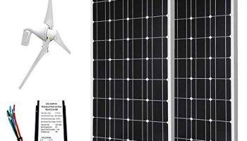 ECO-WORTHY 400W Wind Turbine Generator + 100W Polycrystalline Solar
