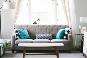 a sofa handled by white glove delivery Dallas