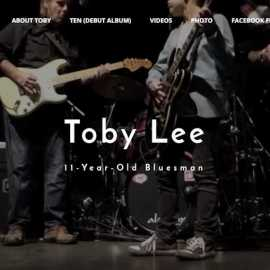 Toby Lee 11 year old blues guitar