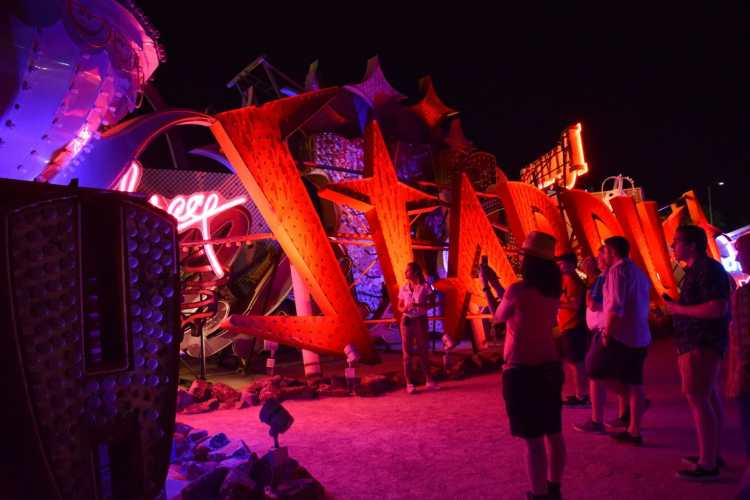 Time Traveling Through Las Vegas' Past: A Night At The Neon Museum