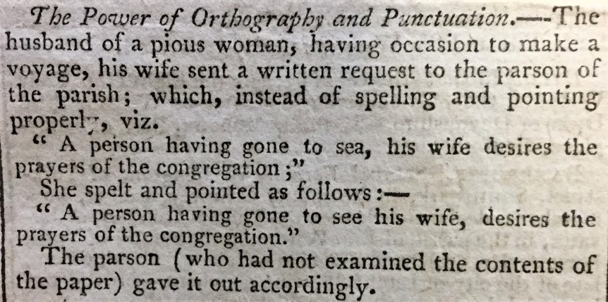 The Power of Orthography and Punctuation