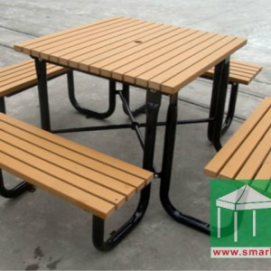 環保木桌椅組合 – OFS184