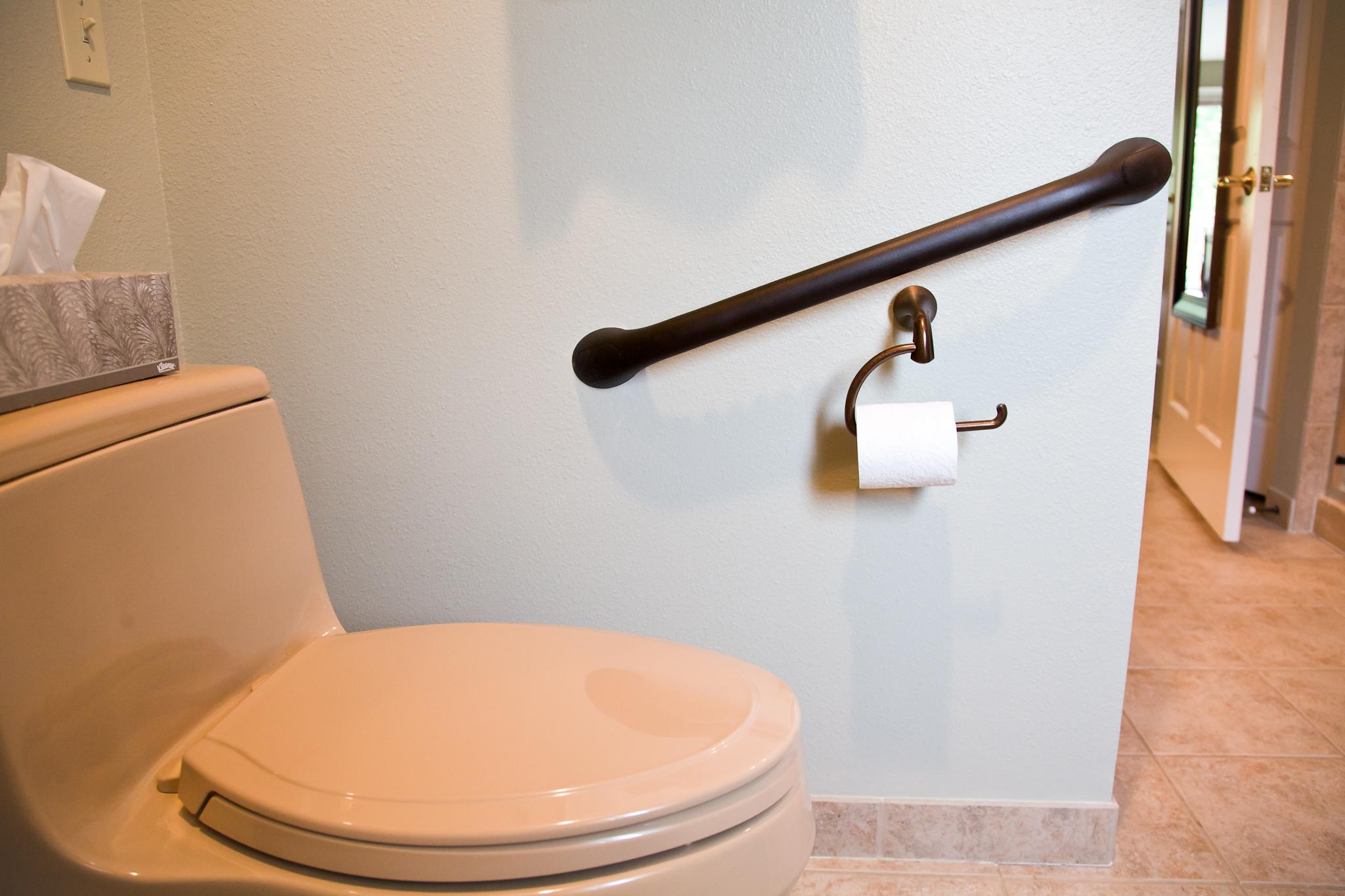 toilet grab bar | grab bar for toilet | smart accessible living