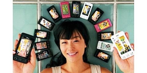 LG vende 5 millones de móviles LG Cookie en todo el mundo