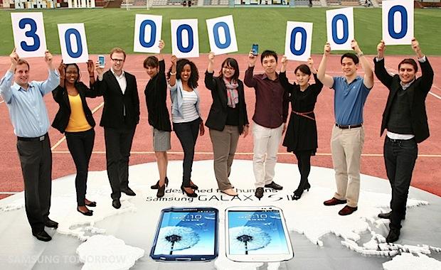 Samsung GALAXY S III 30-millones