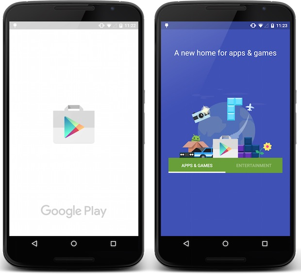 Google Play nuevo