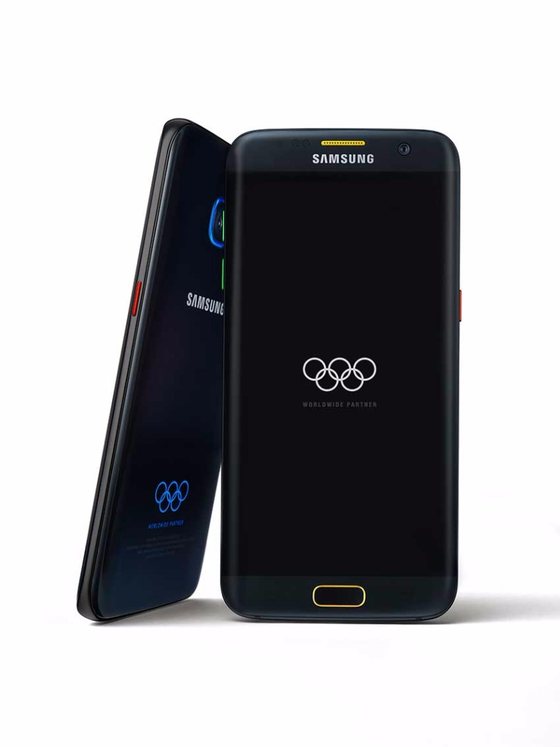 Galaxy S7 Edge olimpiadas