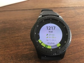 Samsung Gear S3 Frontier fitness